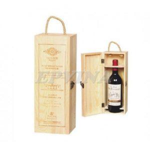 Hộp rượu gỗ 009