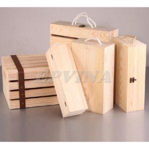 Hộp rượu gỗ 012