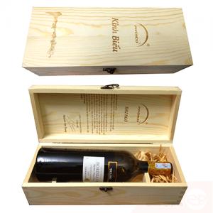 Hộp rượu gỗ 003