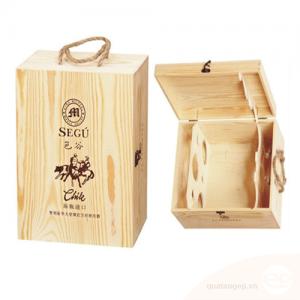 Hộp rượu gỗ 006