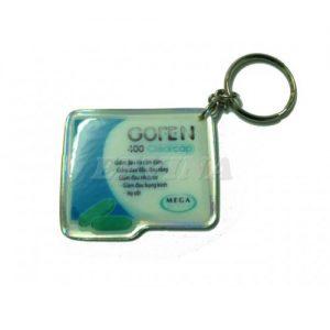 Móc khóa nhựa dẻo 0012