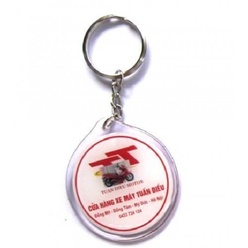 Móc khóa nhựa dẻo 0031