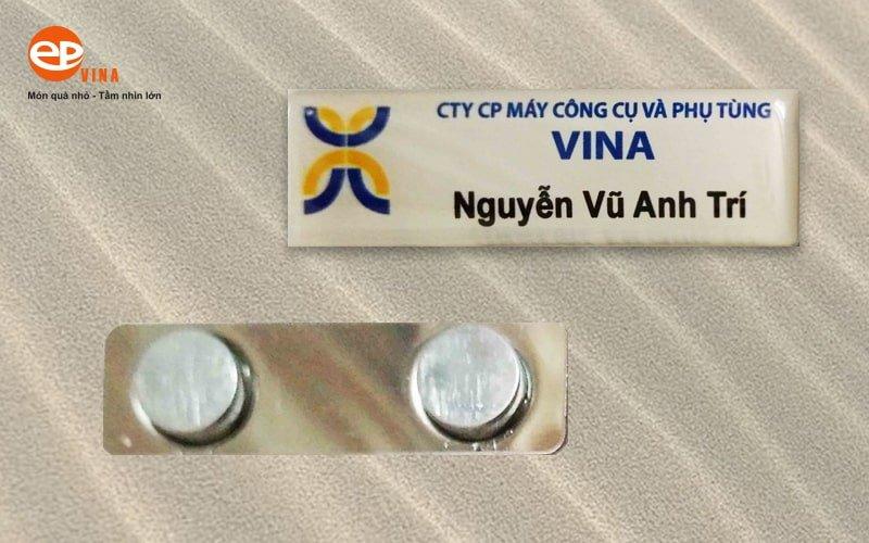 thẻ tên nhân viên Epvina