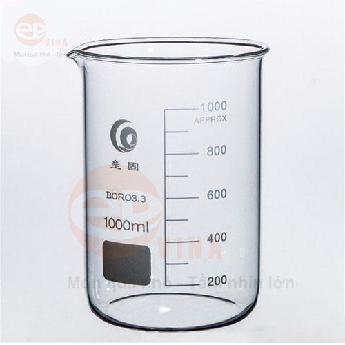 cốc thủy tinh 1000ml
