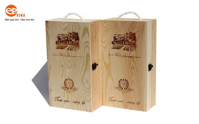 mua hộp gỗ đựng rượu giá rẻ