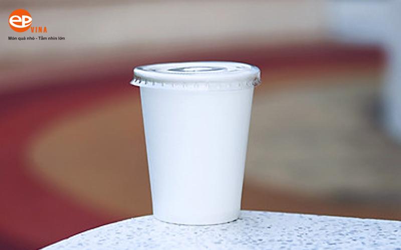 cốc dùng 1 lần nắp bằng