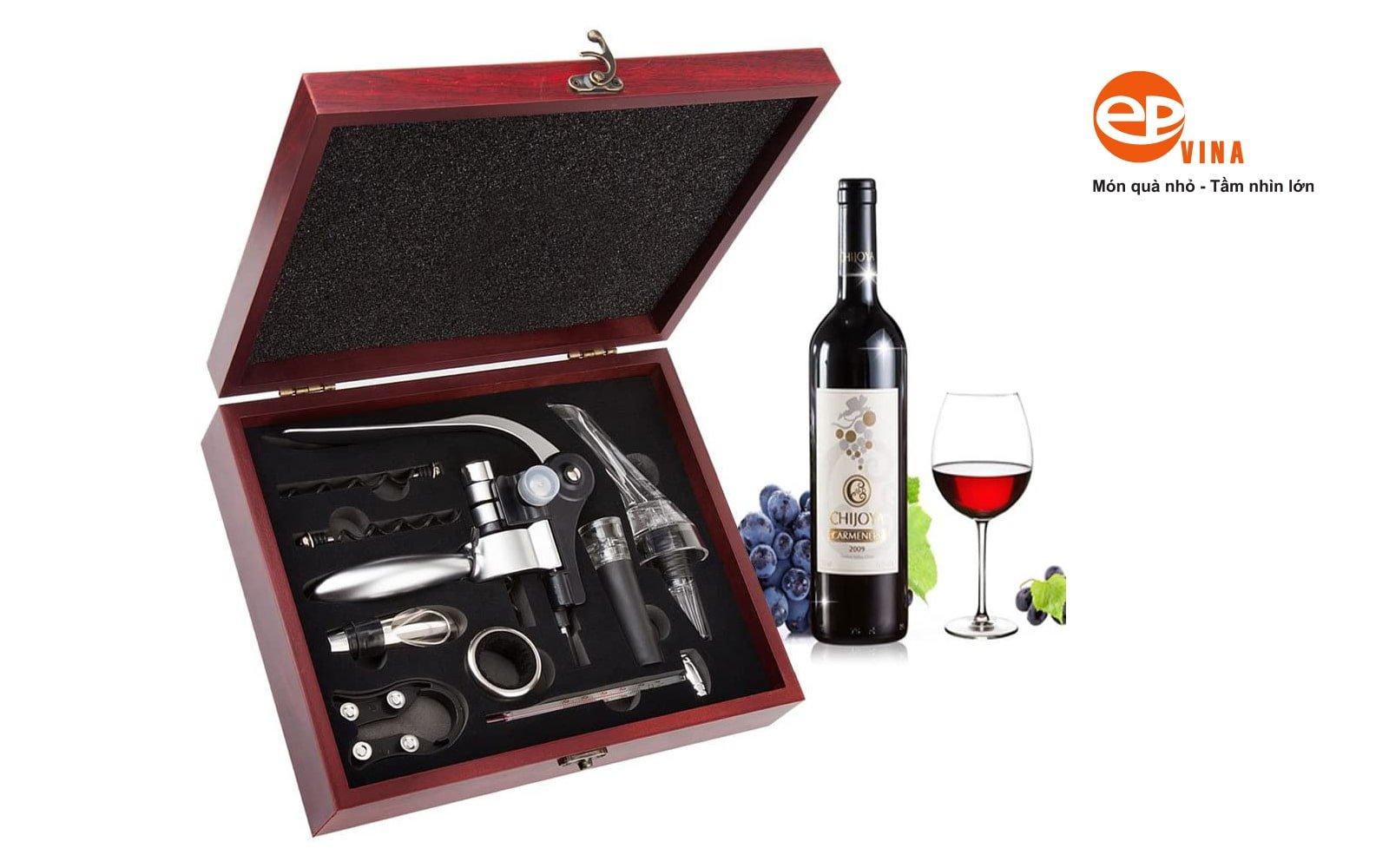 Bộ phụ kiện rót, mở cho rượu vang Hà Nội