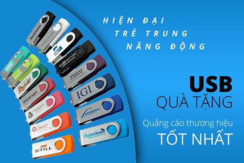 một số mẫu quà tặng USB đẹp