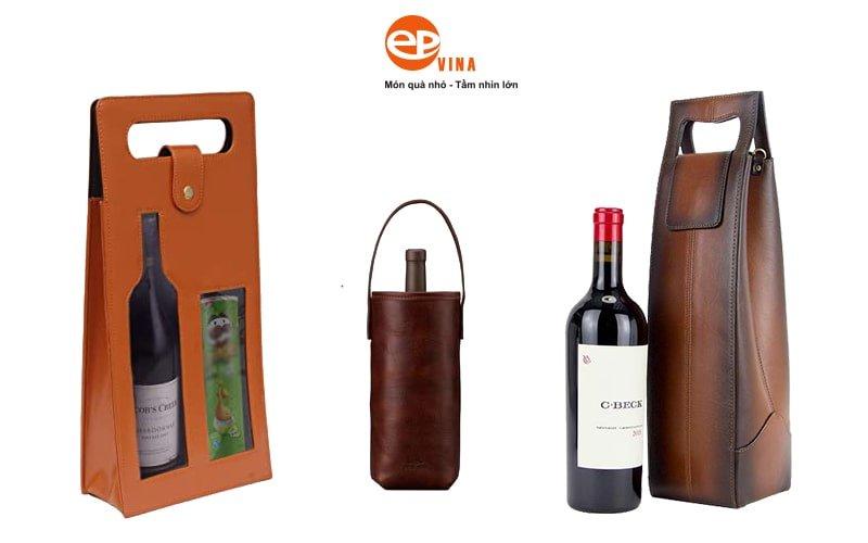 túi đựng rượu vang có sẵn