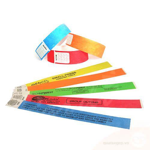 Vòng đeo tay sử dụng một lần bằng giấy DOUPONT cho dịch vụ bể bơi