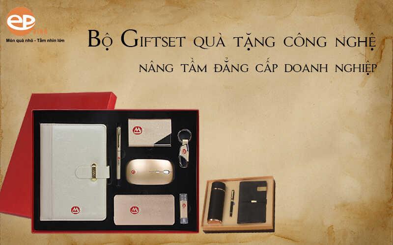 bộ giftset quà tặng doanh nghiệp