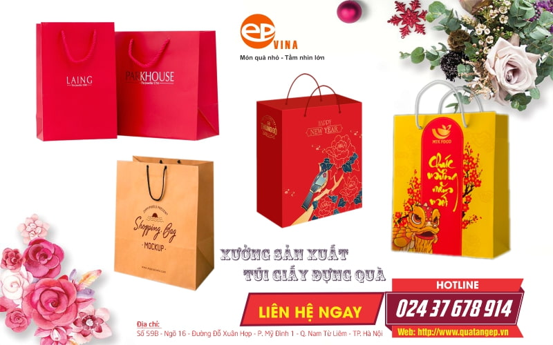 Công ty sản xuất túi giấy Epvina