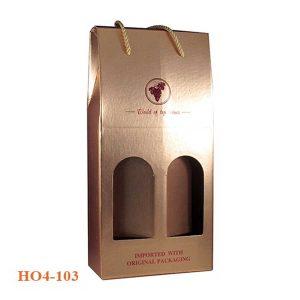 hộp đựng rượu giấy 103