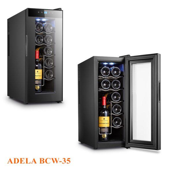 Tủ rượu vang Adela 12 chai