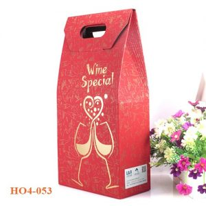 Túi đựng rượu giấy 053