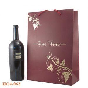 Túi đựng rượu giấy 062