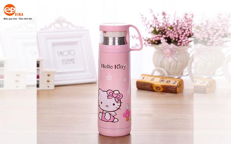 Binh giu nhiet Hello Kitty