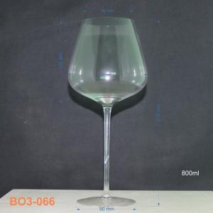 Bộ ly rượu vang thủy tinh 6 ly 066