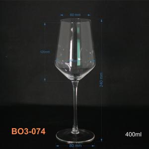Bộ ly rượu vang thủy tinh 6 ly 074